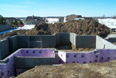 Poured concrete walls for Poured concrete basement walls